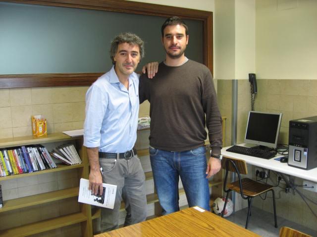 Foto de Jorge Adiego y Josema