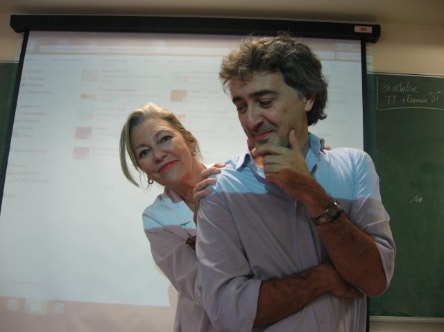 Foto de Jorge Adiego y Chayo