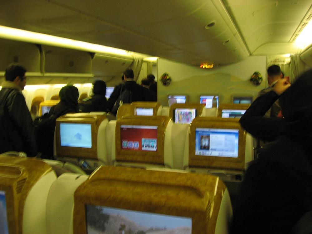 avión emirates