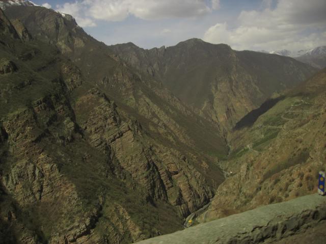 Carretera montes Alborz