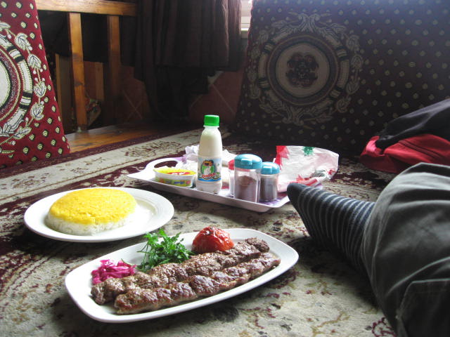 Comida mar Caspio