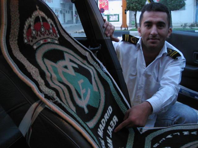 Taxista iraní
