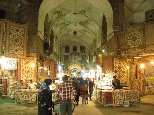 Bazar Isfahán 2