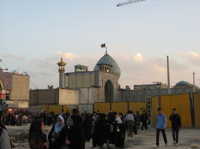mezquita shiraz iran
