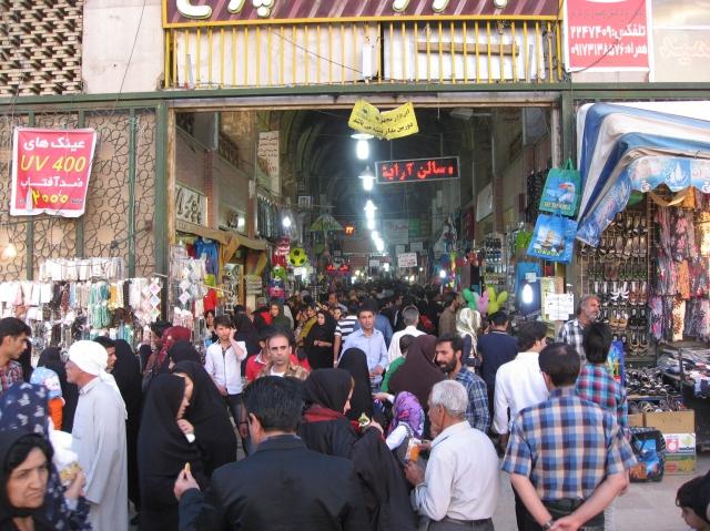bazar shiraz iran