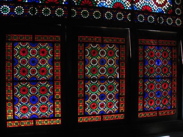 vidriera yazd interior