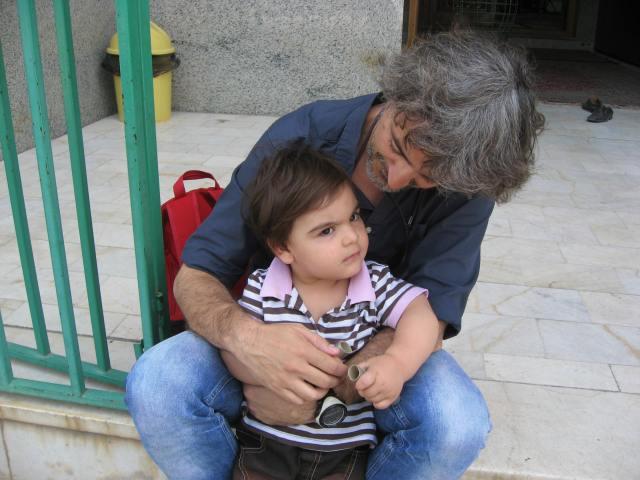foto con niño