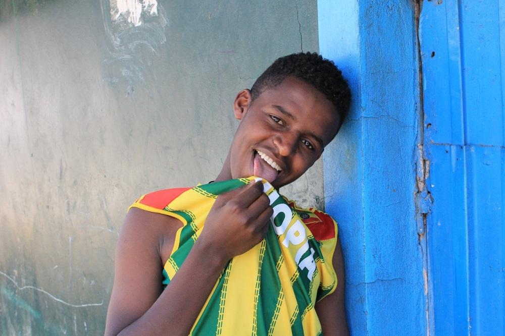 joven etiope