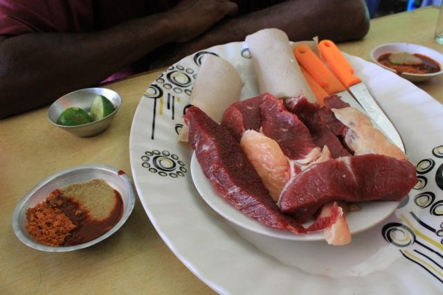 carne etiope y picante