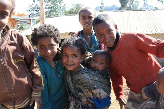 niños etiopes