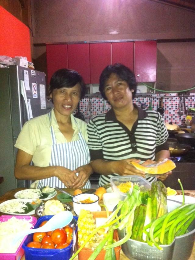 ayudantes cocina indonesia