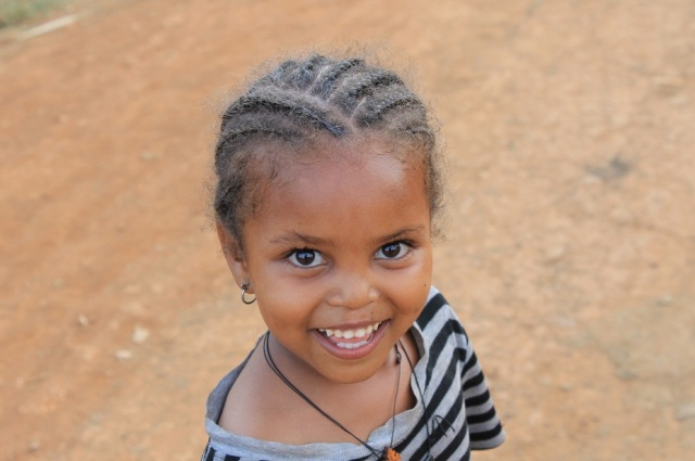 niña Etiope