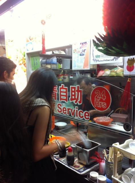 comida singapur