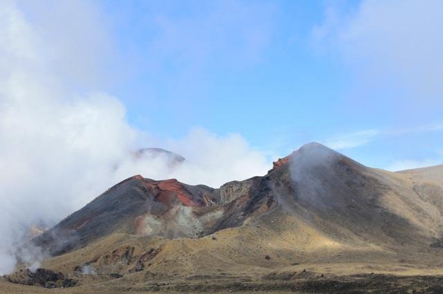 cráter sin niebla