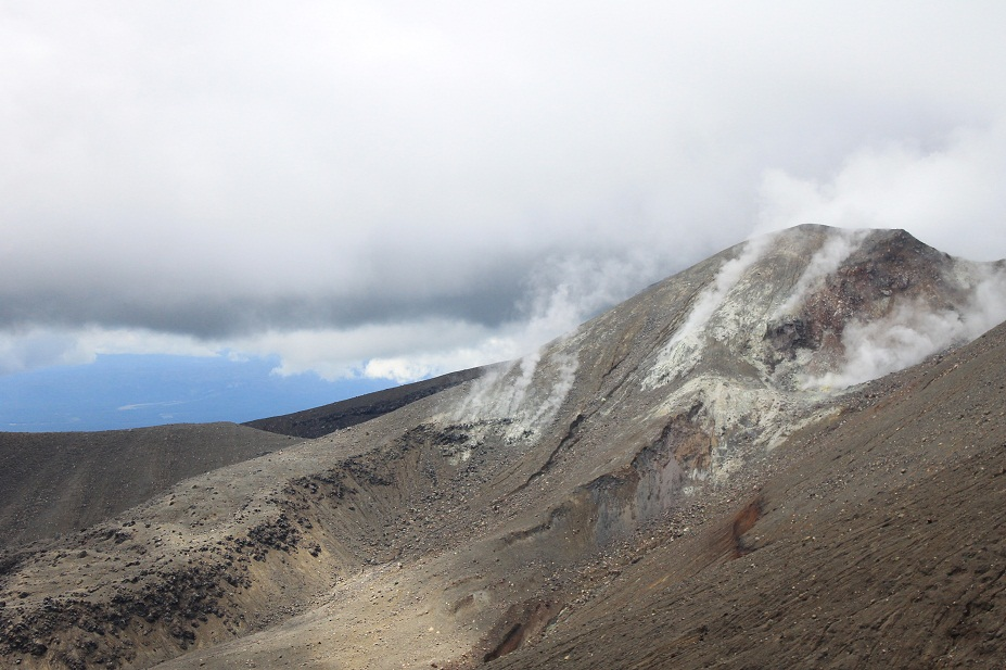 volcan  tangariro new zealand
