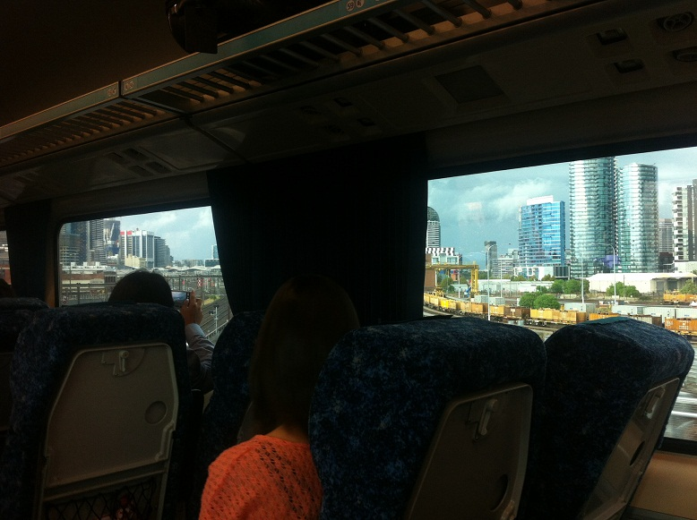 Tren a Melbourne