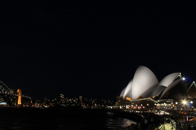 opera house bar night