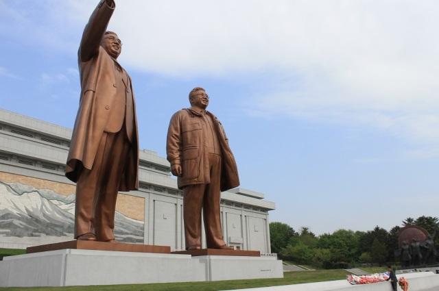líderes corea norte