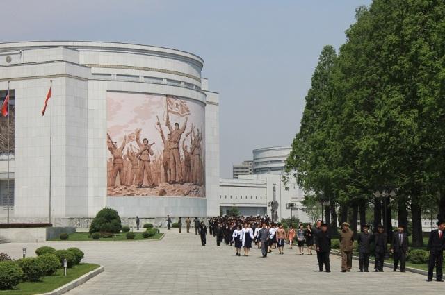 museo guerra corea pyongyang