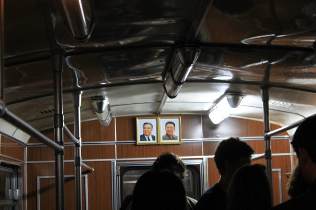 vagón metro pyongyang