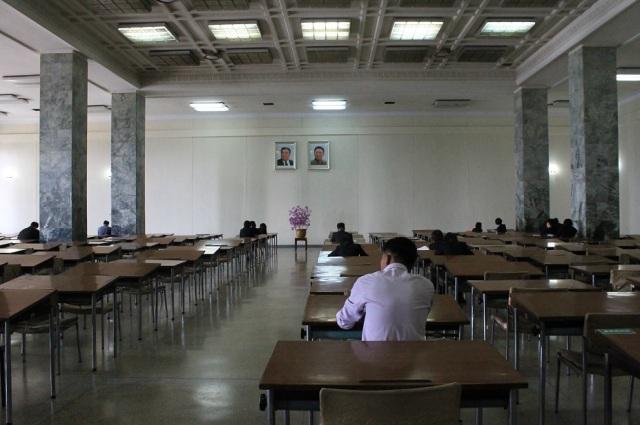 biblioteca pyongyang