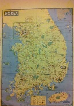 mapa sur