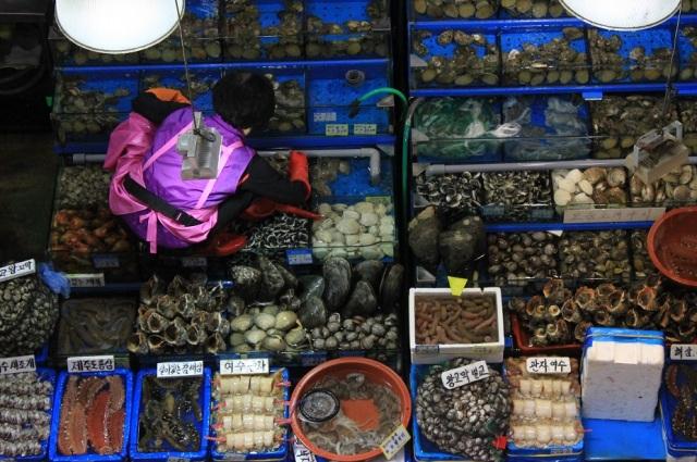 fish market seul