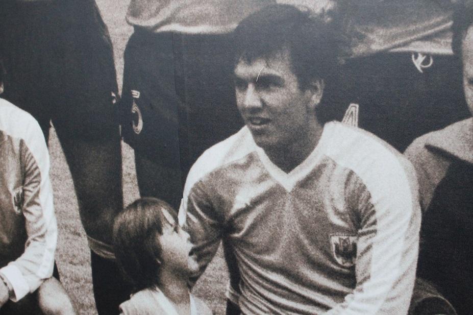 Rubén Sosa, jugador del Real Zaragoza 1985-1988
