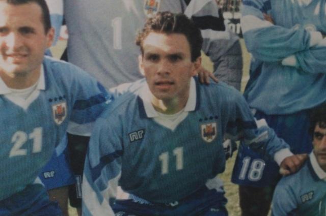 Gustavo Poyet, jugador del Real Zaragoza 1990-1997
