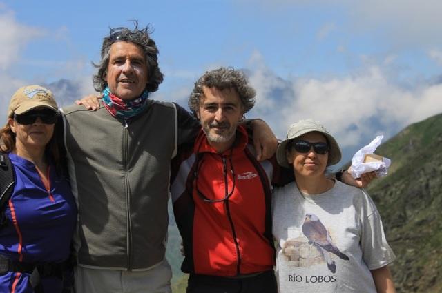 Maricarmen, Pepe, Ratachampanes y Beatriz