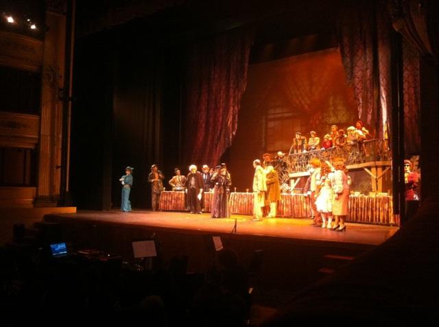 Teatro Solís, La Visita